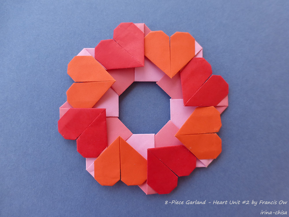 8-Piece Garland - Heart Unit #2 by Francis Ow