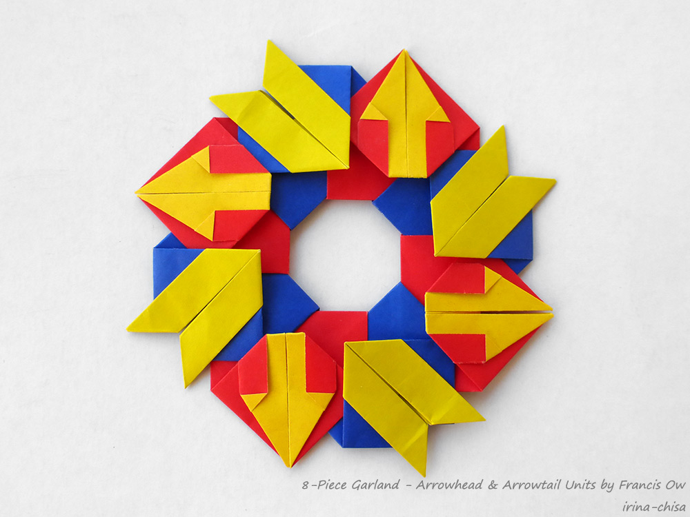 8-Piece Garland - Arrowhead & Arrowtail Units by Francis Ow