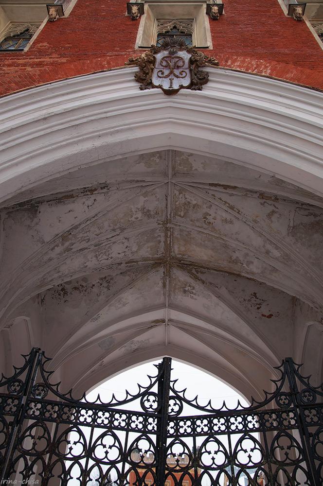 Готические дворцовые конюшни
