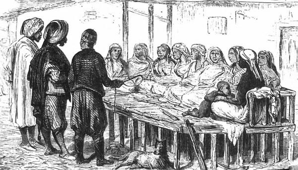 рынок рабынь фото