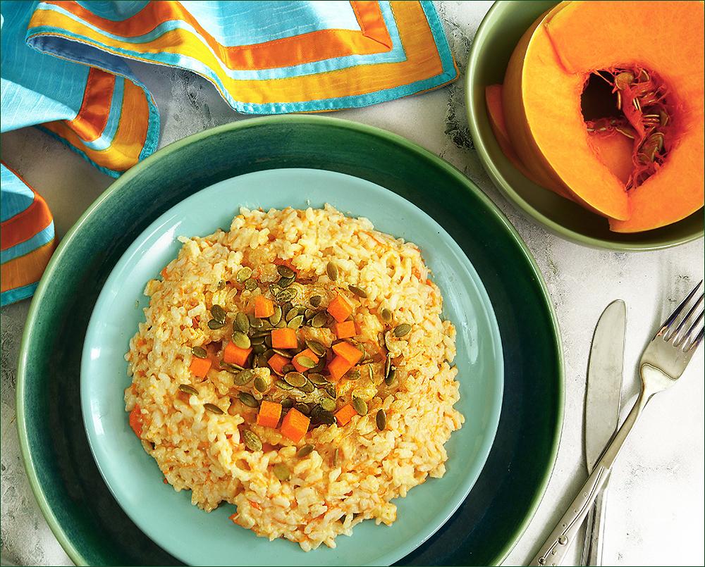 «Оранжевое кулинарное настроение» — готовим с тыквой