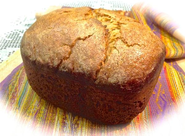 Рецепт хлеба в хлебопечке из цельнозерновой и кукурузной муки