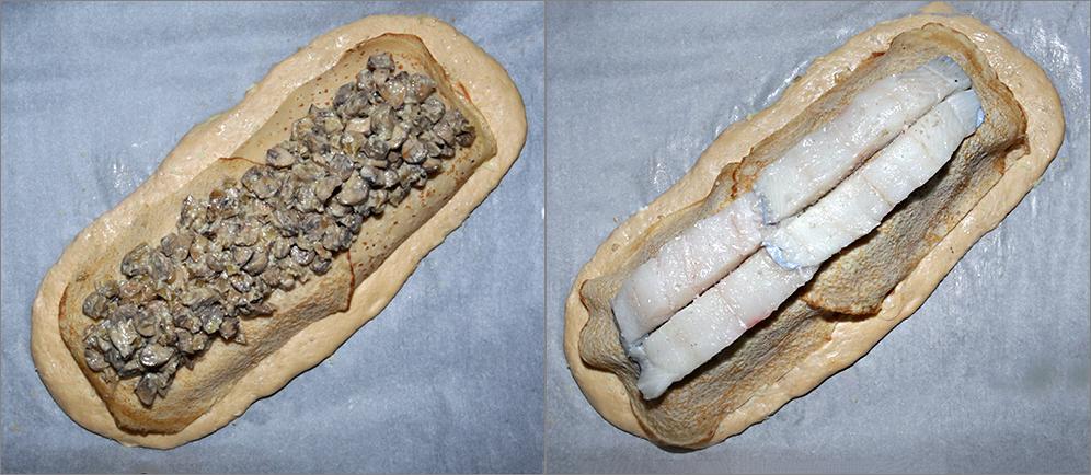 Русская кулебяка с рыбой - приготовленная по старинной технологии