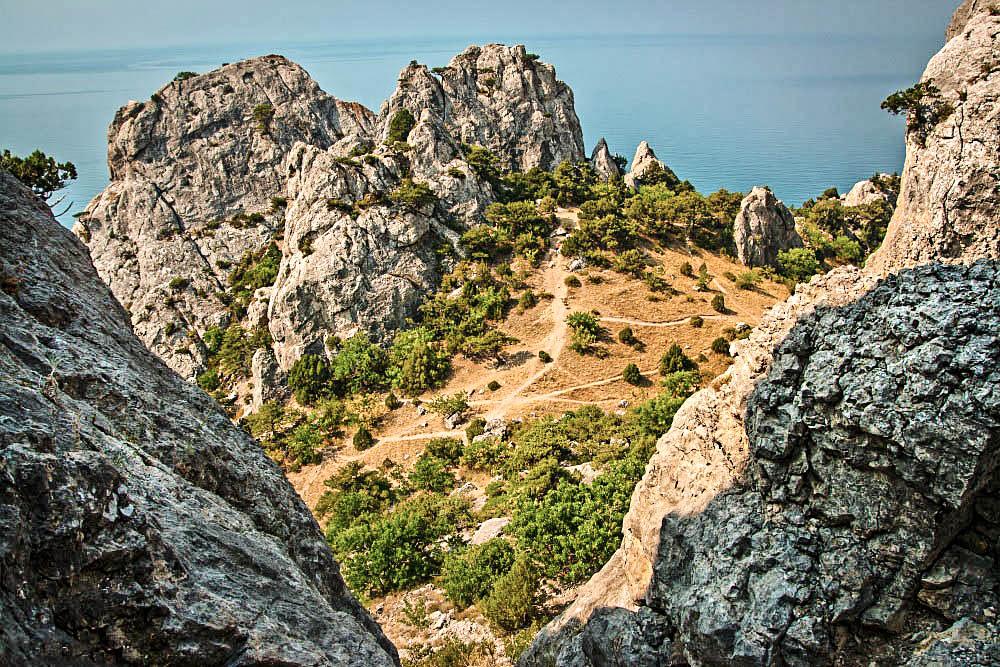Крым, поход на гору Караул-Оба в Новом Свете
