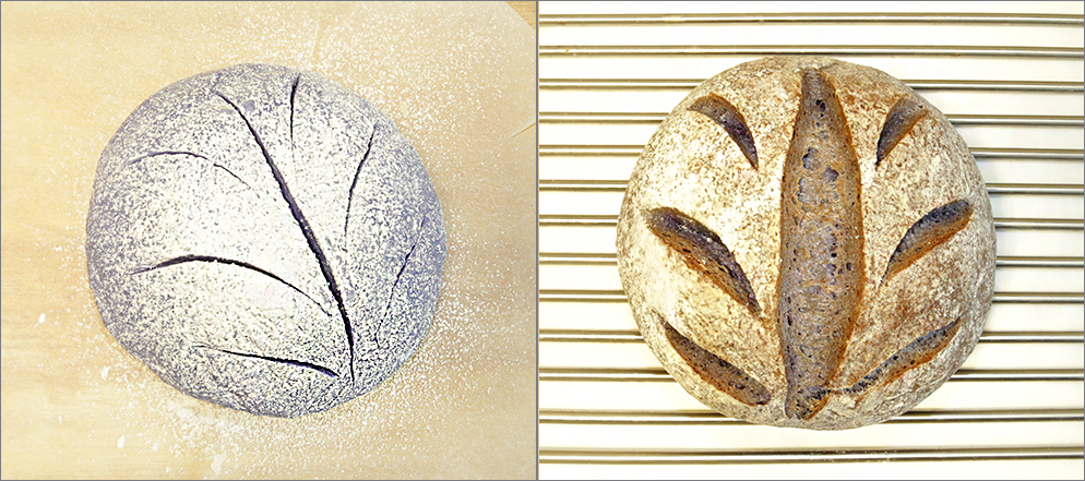Хлеб подовый Анчан