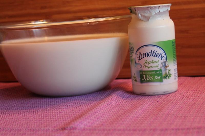 Как сделать йогурт из молока в домашних условиях без закваски