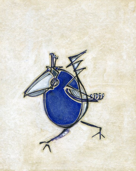 Синий попугай2