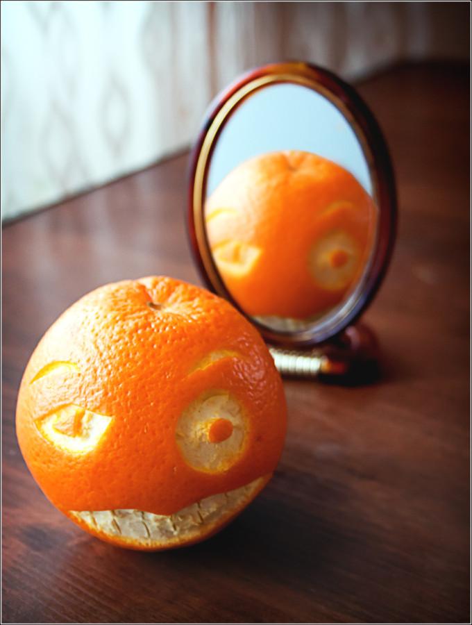 злая апельсинка