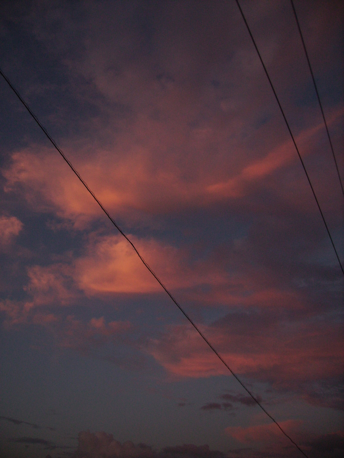 Вечернее небо. Фото: Дмитриева Ирина