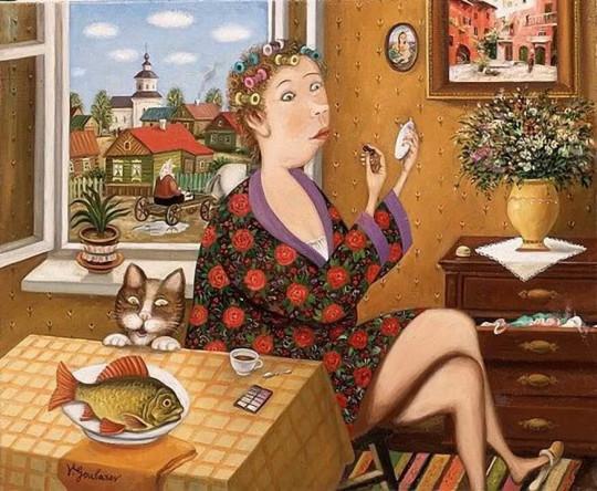 художник Валентин Губарев