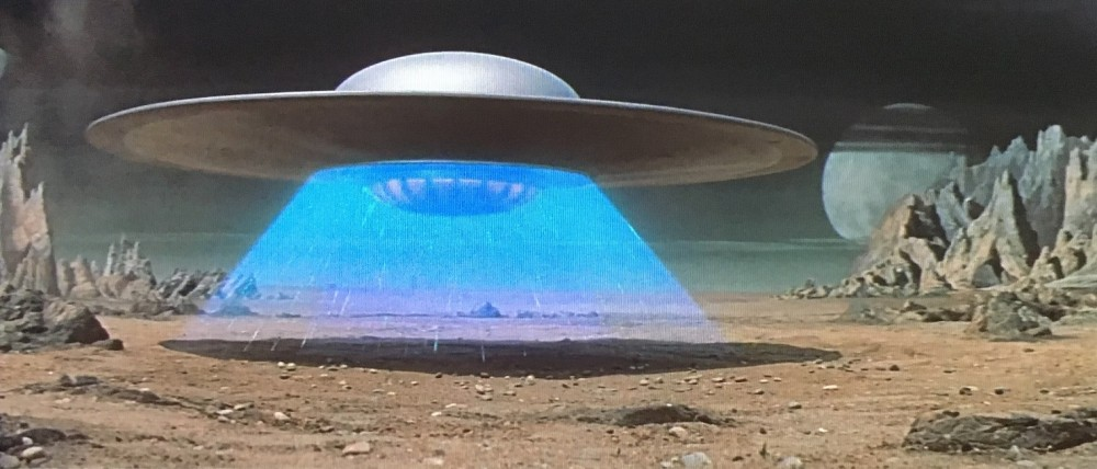 """кадр из фильма """"Запретная планета"""""""