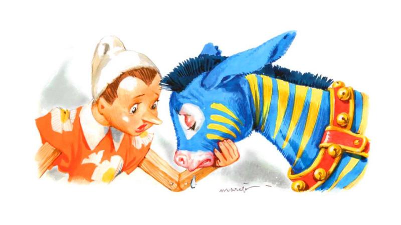 Иллюстрация художника Либико Марайя