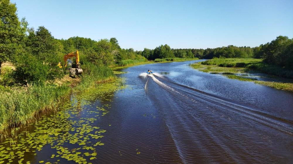 Берег реки Коваш скоро очень изменится.