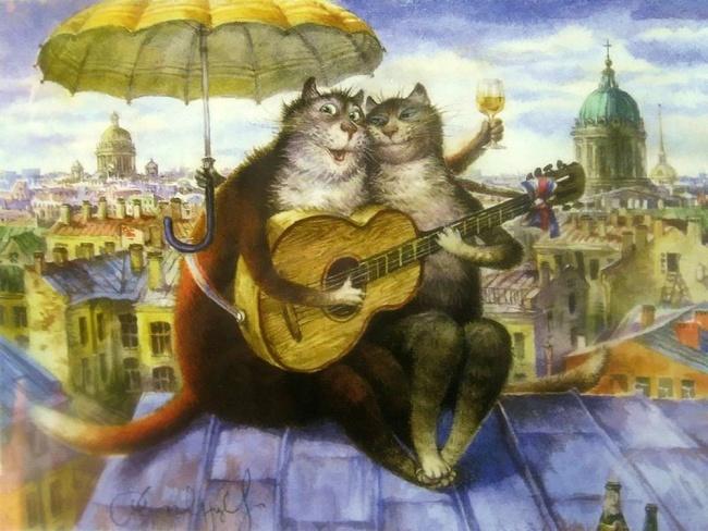 картинки румянцевские коты