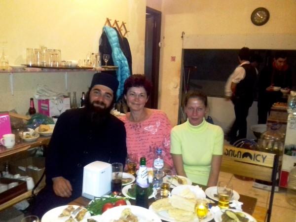 Батюшка, Алина и я