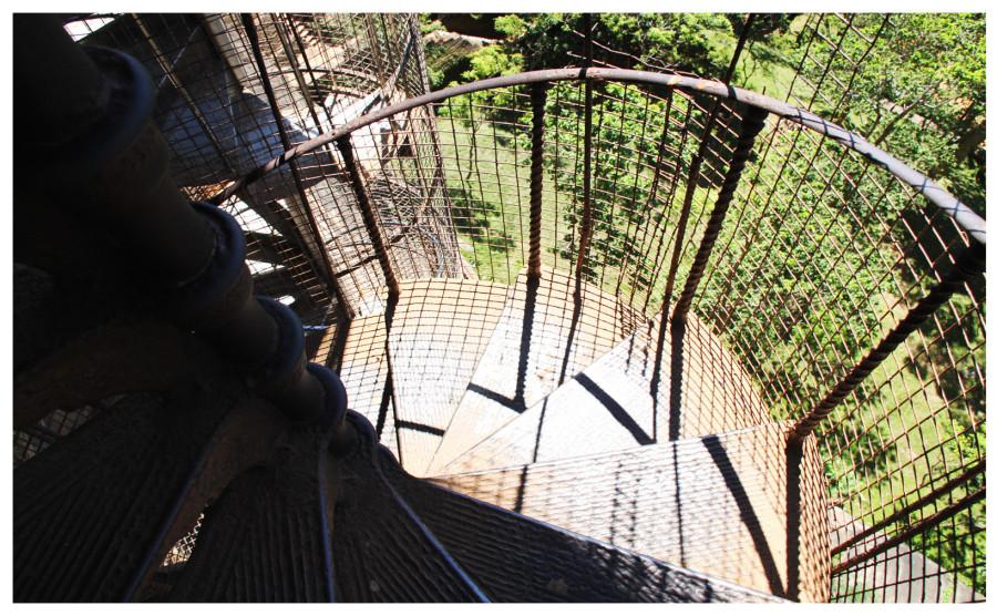 Лестница по дороге на вершину