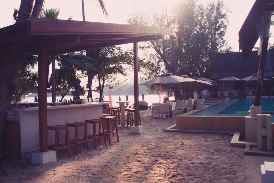 бар на пляже