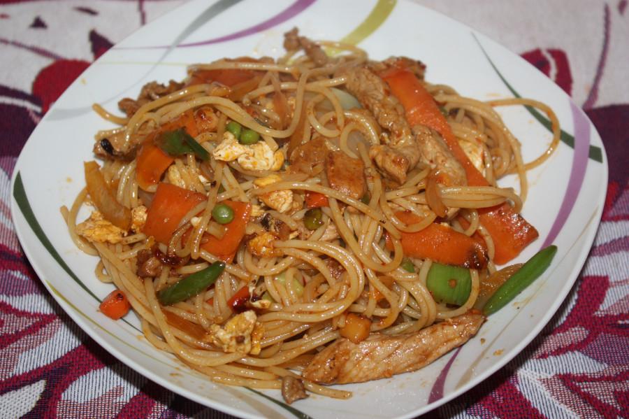 лапша по-китайски рецепт с фото