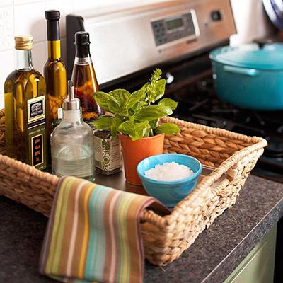 корзинка для кухонных мелочей