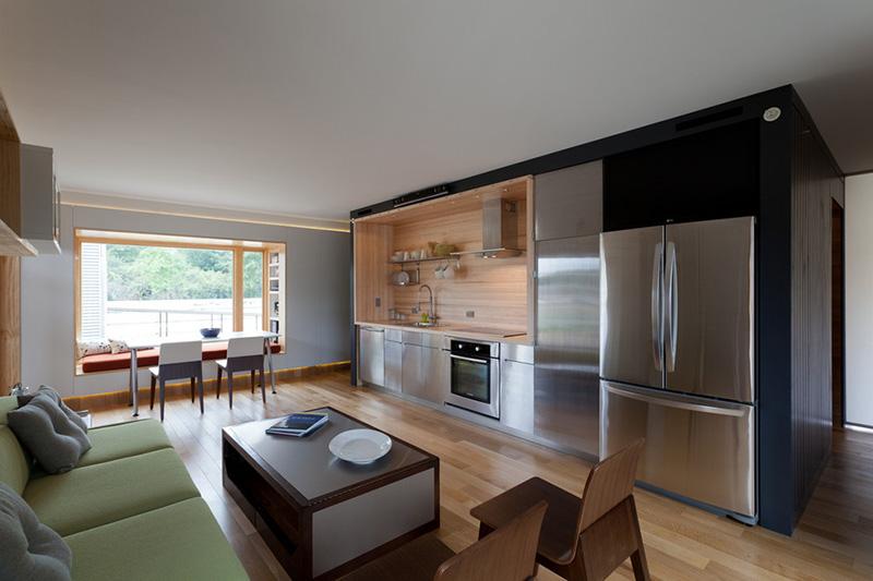 Как перенести кухню в комнату вместе с коммуникациями видео - 658