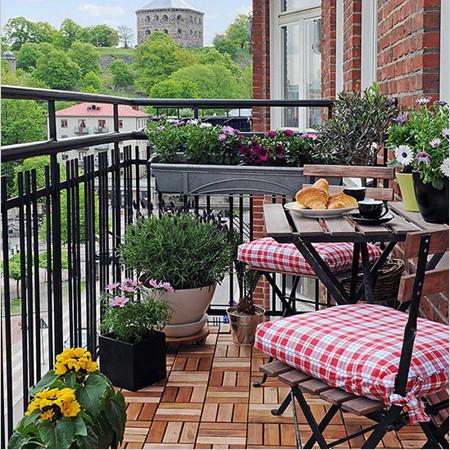 Балкон Швеция