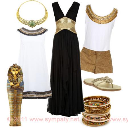 Древнеегипетский костюм часть 2