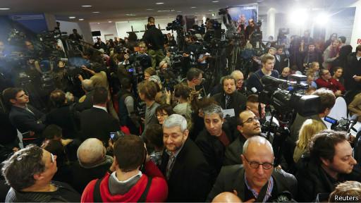 Пресс-конференция МБХ Фото Reuters