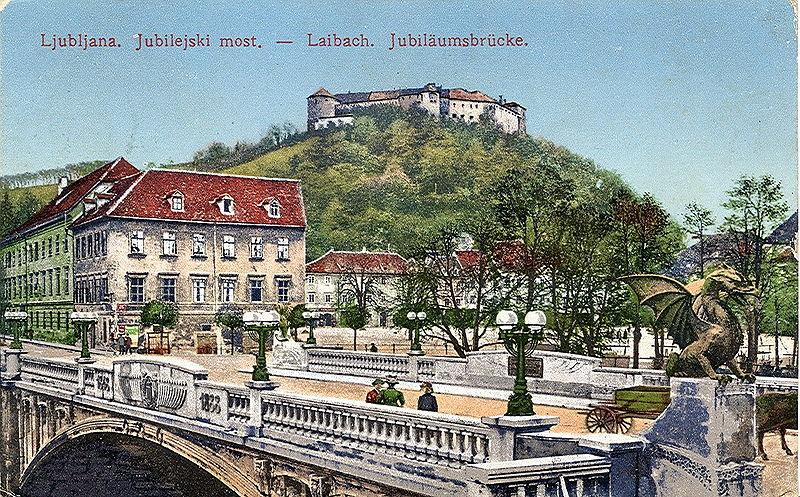 мост в любляне