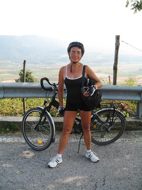 2014 a Milano da Venezia in bici le colle Soava