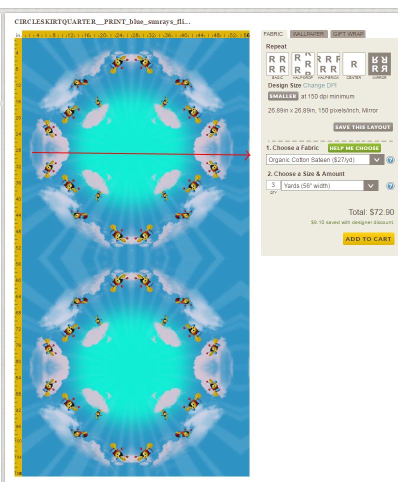 CIRCLESKIRTQUARTER__PRINT_blue_sunrays_4033px   missmartinicorsets   Spoonflower.png
