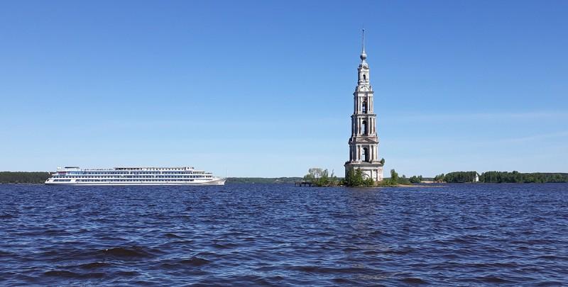Калязин. Волга.