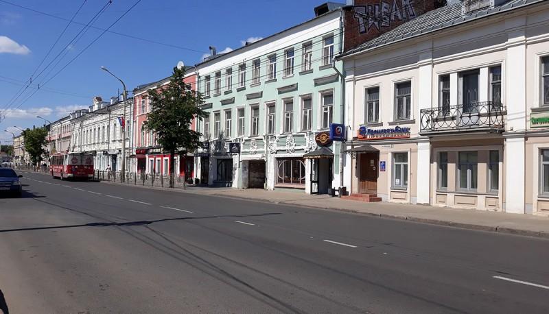 Улица Советская. Артерия города.