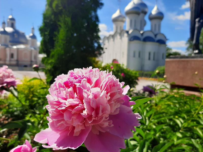 Соборная площадь, Соборная горка. Софийский собор и колокольня обязательны к посещению )))