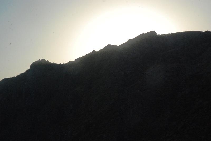 Закат в Гиссарских горах
