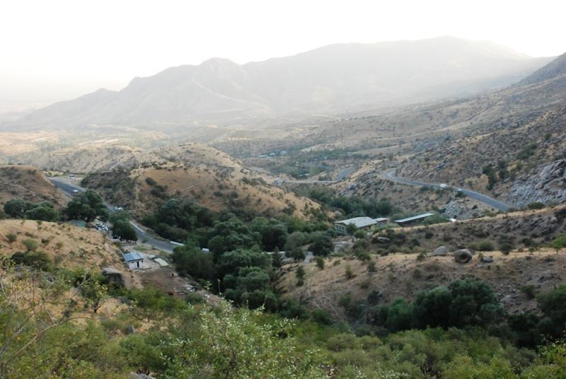 Пейзаж в Гиссарских горах