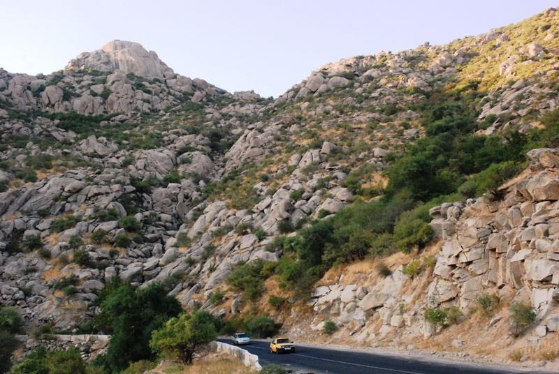 Гиссарские горы, перевал
