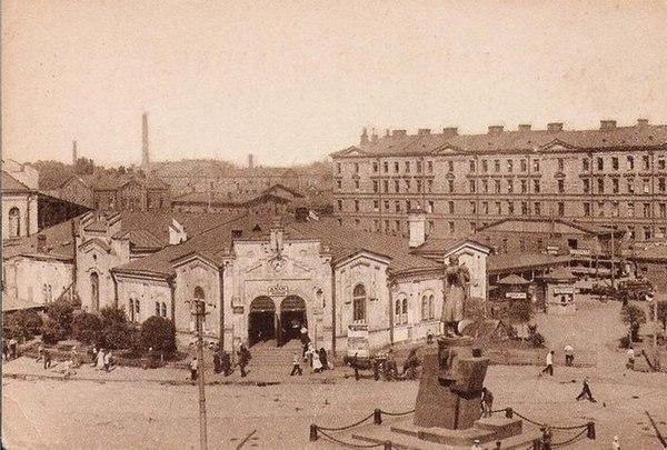 Как выглядели улицы города до постройки станций метро