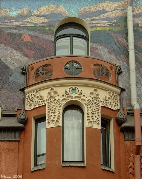 питерские балконы