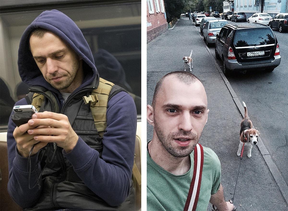 Питерский фотограф сравнил пассажиров метро с их профилями «ВКонтакте»1