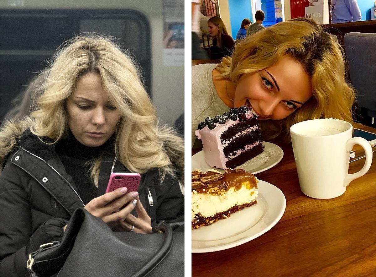 Питерский фотограф сравнил пассажиров метро с их профилями «ВКонтакте»2