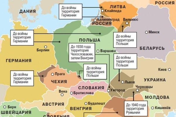 Европа, которую создал СССР