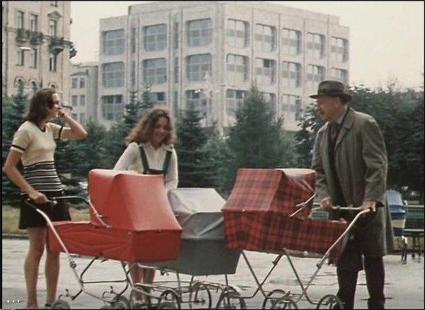 Детские коляски в СССР