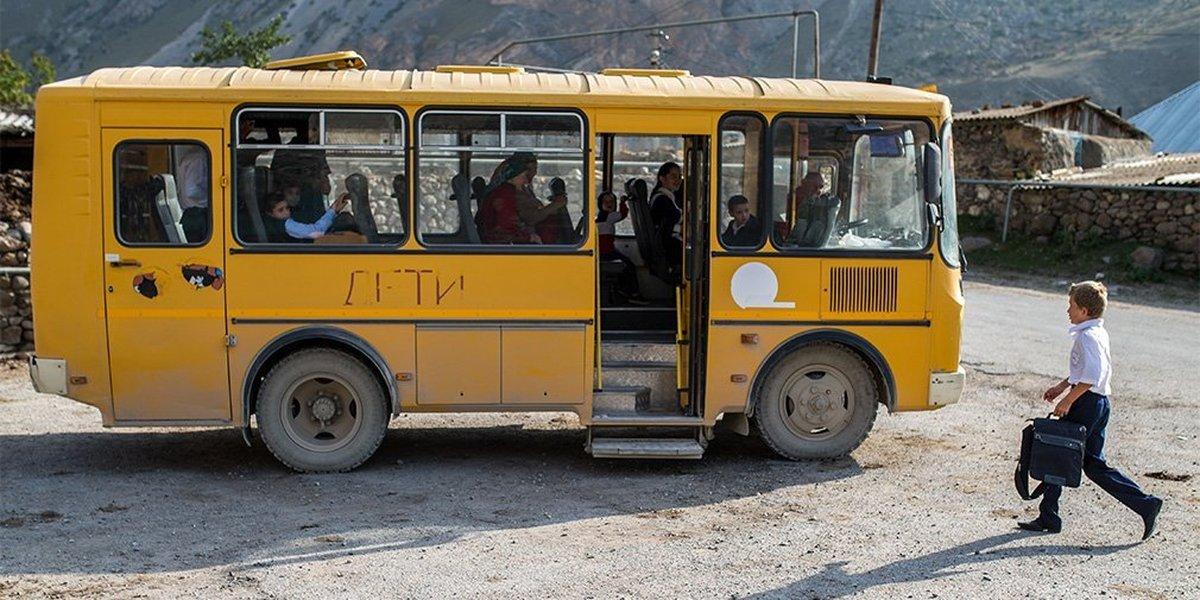 Выкинули ребенка прямо из автобуса