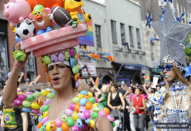 Гей-парад в Нью Йорке