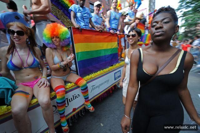 Гей-парад в Нью Йорке1