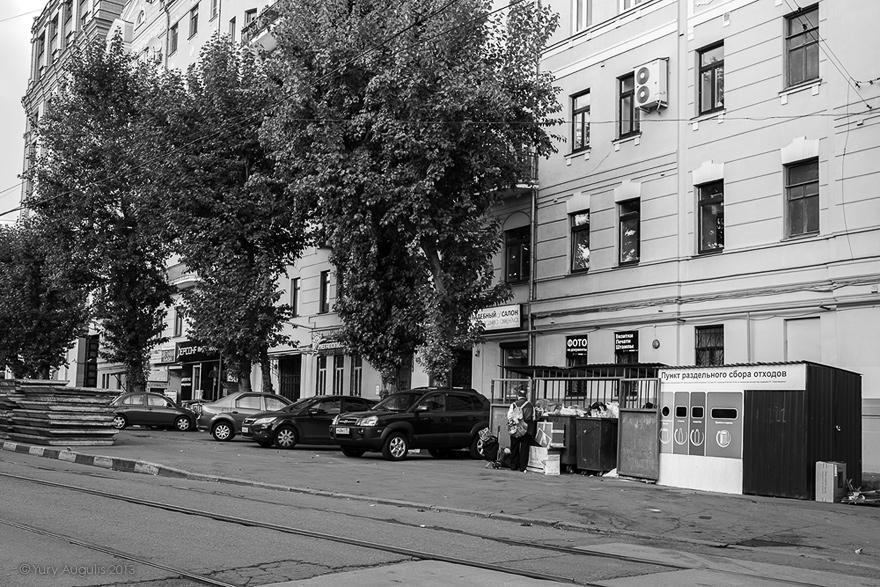 Пересечение Климентовского переулка с Новокузнецкой улицей