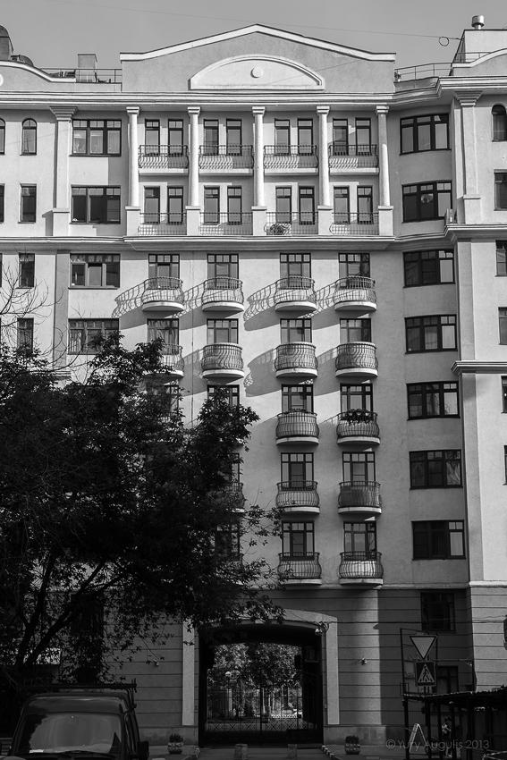 Улица Бахрушина 13