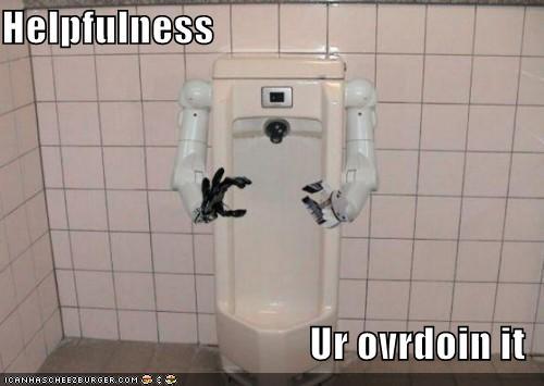 Helpfulness: Ur overdoin it