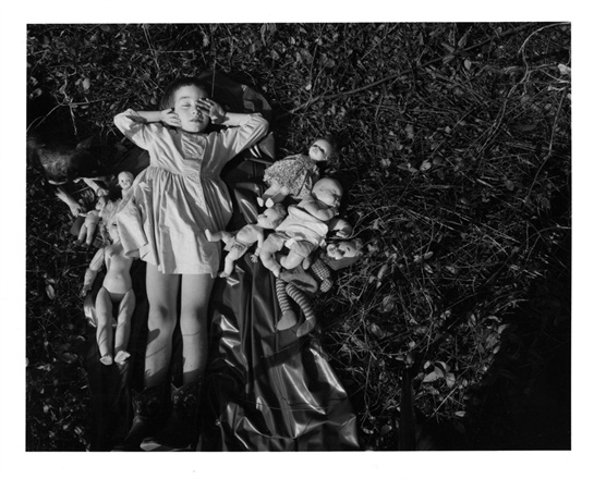 Фото Emmet Gowin, Nancy, Danville, Virginia, 1965