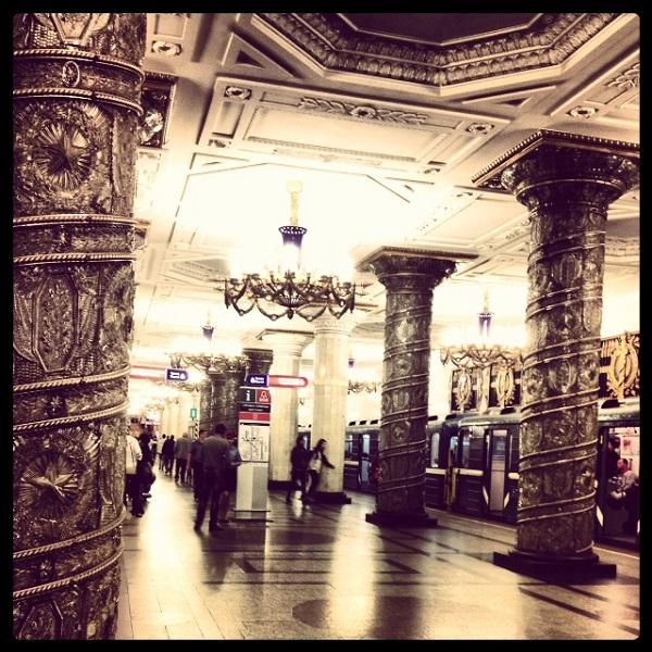 metro stolby